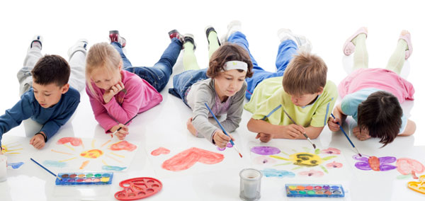 How to help bring out creativity in children